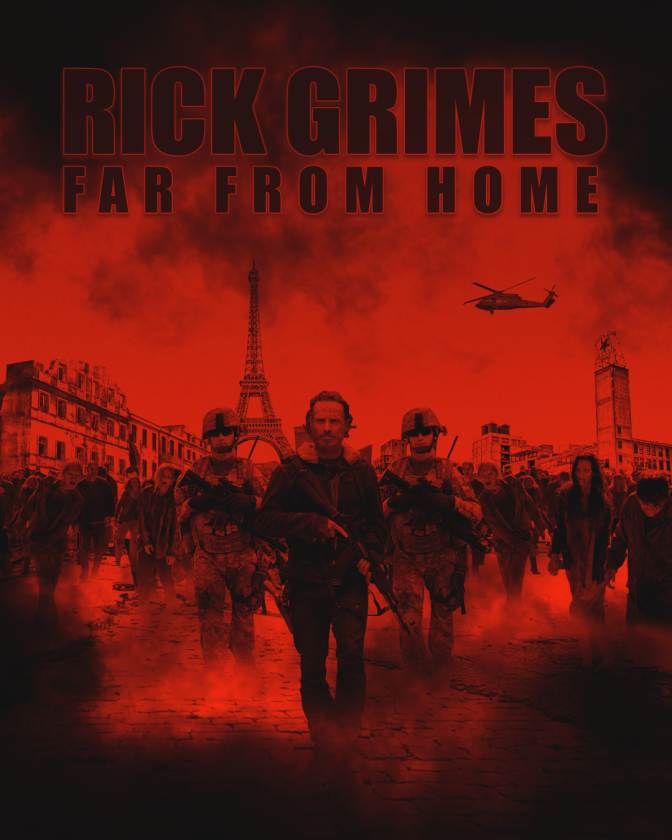 Rick Grimes Trilogy Poster Art | Plot Intro for First Film