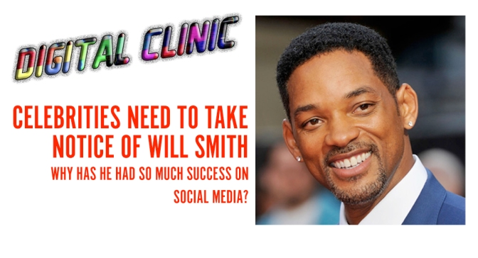 Celebrities need to take notice of Will Smith | Why has he had so much success on Social Media?